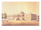 Capitol of the United States, Engraved by Thomas Sutherland, 1825 Giclee Print by Benjamin Henry Latrobe