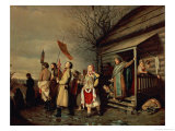 Easter Procession, 1861 Giclee Print by Vasili Grigorevich Perov