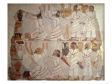 Wall Painting in the Tomb of Sebekhotep at Thebes, the Presentation of Tribute from Syria Giclee Print