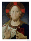 Christ Blessing Giclee Print by Lazzaro Bastiani
