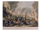The Burning of Moscow, 15th September 1812, 1813 Giclee Print by Johann Lorenz Rugendas