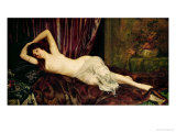 Reclining Nude Giclee Print by Henri Fantin-Latour