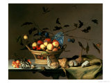 Still Life Premium Giclee Print by Balthasar van der Ast