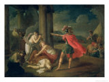 The Death of Camilla, Sister of Horatius, 1787 Giclee Print by Matvei Ivanovich Puchinov