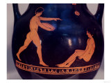 Athenian Red-Figure Pelike or Amphora Depicting a Games Scene, Greek, 450-400 BC (Pottery) Giclee Print