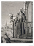 The Muezzin's Call to Prayer, 19th Century Giclee Print by Karl Wilhelm Gentz