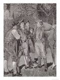 Paul Revere (1735-1818) at Lexington, from Harper's Young People, 1889 Giclee Print by Howard Pyle