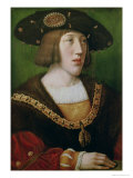 Portrait of Charles V (1500-58) 1516 Giclee Print by Bernard van Orley