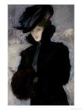 The Fur Coat Giclee Print by Bessie MacNicol