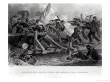 Struggle on a Bridge During the Retreat from Manassas, July 1861, Engraved by W. Ridgway, 1862 Giclee Print by Felix Octavius Carr Darley