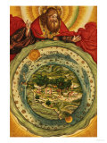 The Creation, from the Luther Bible, circa 1530 Giclee Print