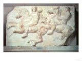 Procession of Horsemen, from the North Frieze of the Parthenon, 447-432 BC Giclee Print