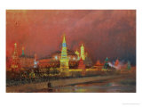 Illumination in the Kremlin, 1896 Giclee Print by Nikolai Nikolaevich Gritsenko