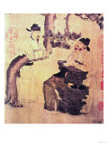 An Ancient Chinese Poet (Facsimile of Original Chinese Scroll) Giclee Print