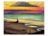 The Beach at Heist, 1891-92 Giclee Print by Georges Lemmen