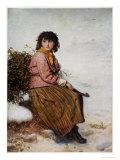 The Mistletoe Gatherer, 1894 Giclee Print by John Everett Millais