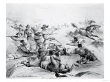 The Last Battle of General Custer, 25th June 1876, circa 1882 Giclee Print