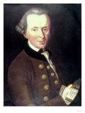 Portrait of Emmanuel Kant (1724-1804) Giclee Print