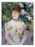 Young Girl in a Ball Gown, 1879 Premium Giclee Print by Berthe Morisot
