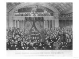 Daniel Webster (1782-1852) Addressing the United States Senate Giclee Print