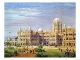 The British Raj Great Indian Peninsular Terminus Giclee Print