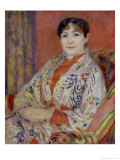 Madame Heriot, 1882 Giclee Print by Pierre-Auguste Renoir