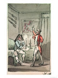 Tristram Shandy, 1786 Giclee Print by John Nixon