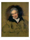 Portrait of William Wilberforce (1759-1833) 1828 Giclée-tryk af Thomas Lawrence