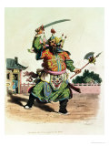 "A Chinese Comedian, Illustration from ""The Costume of China,"" 1805 Premium Giclee Print by William Alexander"