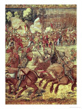 The Battle of Pavia, 24 February 1525 Premium Giclee Print by Bernard van Orley