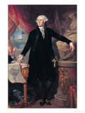 Portrait of George Washington (1732-99) 1796 Giclee Print by Jose Perovani