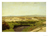 On the Luneburg Heath, 1887 Giclee Print by Valentin Ruths