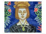 Self Portrait, 1912-15 Giclee Print by Olga Vladimirovna Rozanova