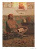 The Royal Scribe Rah-Hotep, 1901 Giclee Print by Stepan Vladislavovich Bakalovich