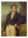 Portrait of the French Zoologist and Paleontologist, Georges Cuvier (1769-1832) Giclee Print by Marie Nicolas Ponce-Camus