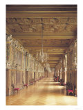 View Down the Length of the Gallery of Francis I, 1530-40 Giclee Print