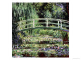 White Waterlilies, 1899 Giclee Print by Claude Monet