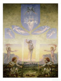 The Morning (Second Version), circa 1808-9 Giclee Print by Philipp Otto Runge