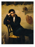 Portrait of an Artist in His Studio Giclee Print by Th&#233;odore G&#233;ricault