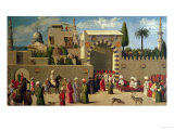 The Venetian Ambassador's Interview in an Oriental City Or, the Reception of Domenico Trevisani Premium Giclee Print