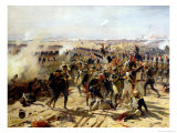 The Battle of Essling, May 1809 Giclee Print by Fernand Cormon
