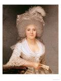 Portrait of Madame Jeanne-Louise-Henriette Campan (1752-1822) 1786 Giclee Print by Joseph Boze