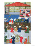 Takyuddin and Other Astronomers at the Galata Observatory Founded in 1557 by Sultan Suleyman Premium Giclee Print