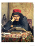 The Reader, 1856 Giclee Print by Ferdinand Heilbuth
