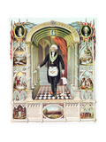 George Washington (1732-99) as a Freemason Premium Giclee Print