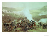 The Cavalry Charge at Balaclava, 25th October 1854 Giclee Print by Edmond Morin