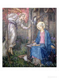 The Annunciation Premium Giclee Print by Edward Reginald Frampton