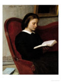 The Reader, 1861 Giclee Print by Henri Fantin-Latour