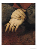Study of a Woman's Hands, after the Portrait of Maddalena Doni by Raphael Giclee Print by Jean-Auguste-Dominique Ingres