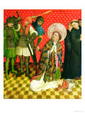 The Martyrdom of St. Thomas of Canterbury, Panel from the St. Thomas Altar from St. John's Church Giclee Print by Master Francke